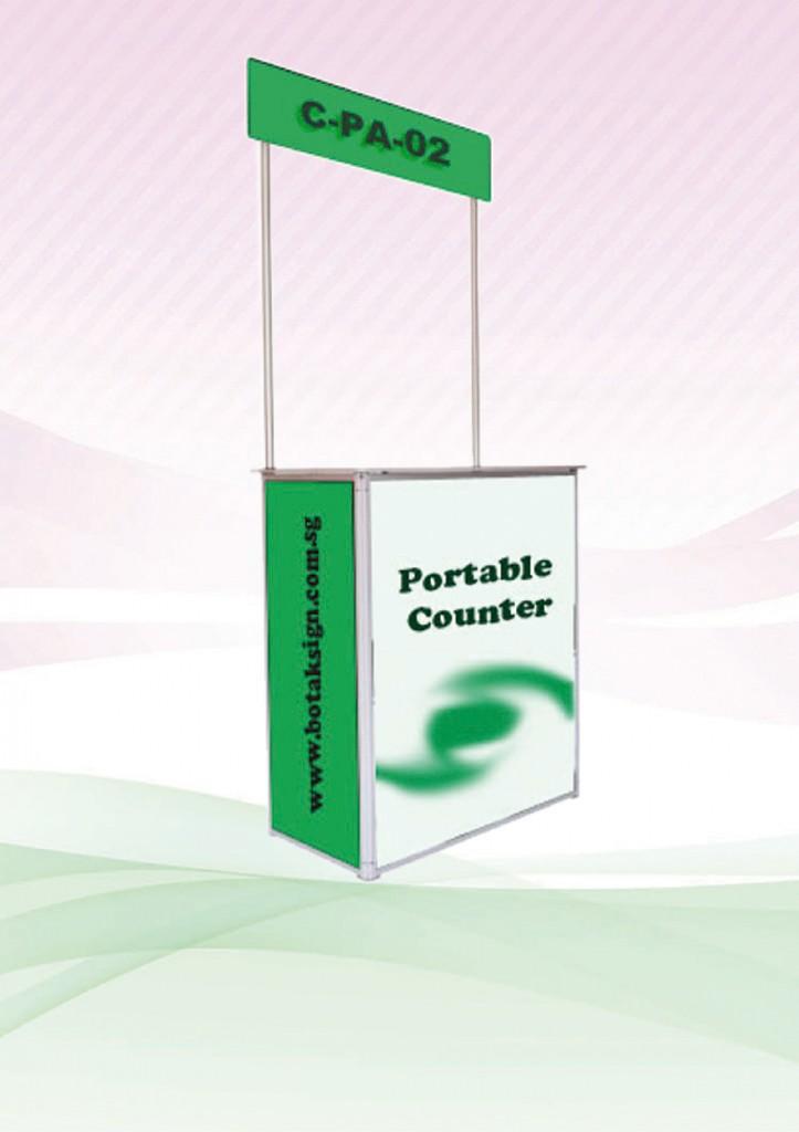 Promotion Counter (Aluminium)