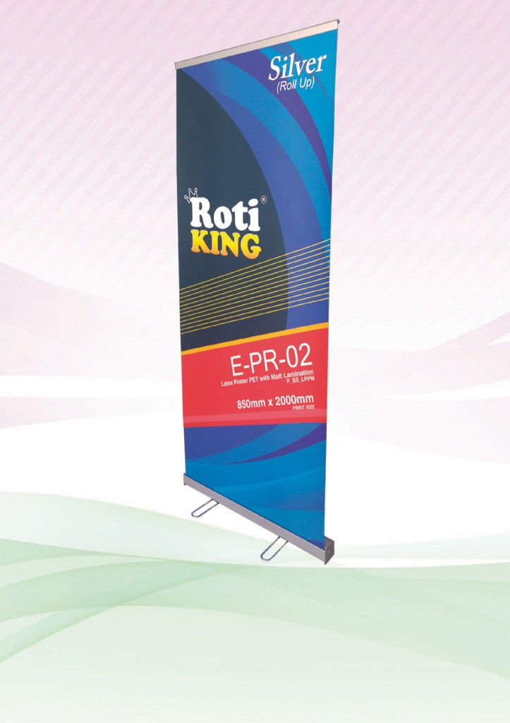 "ROTI ""King"" Roll Up – Silver"
