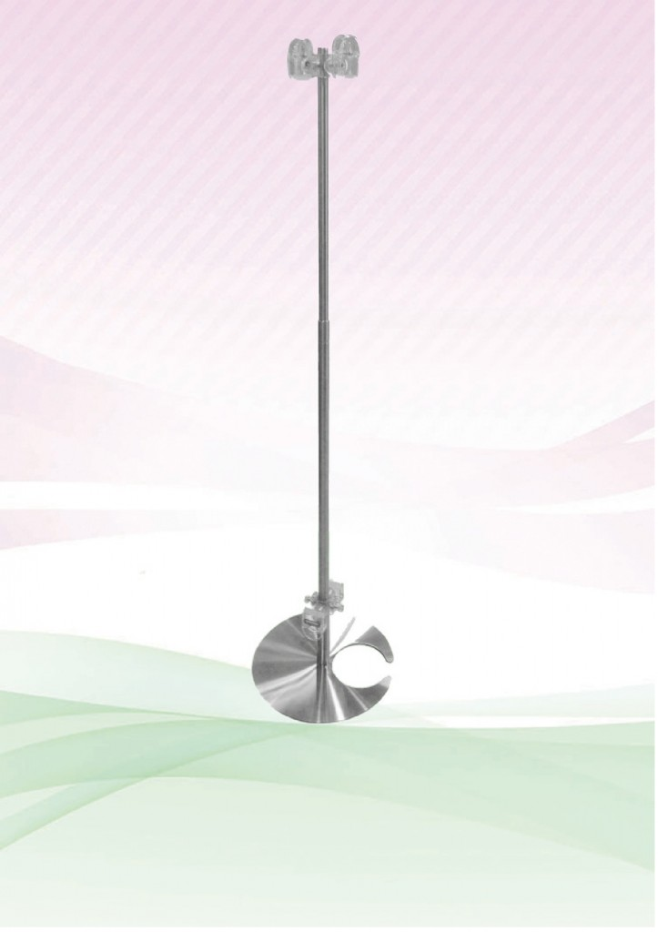 Clip Pole (Stainless Steel) Crab Base