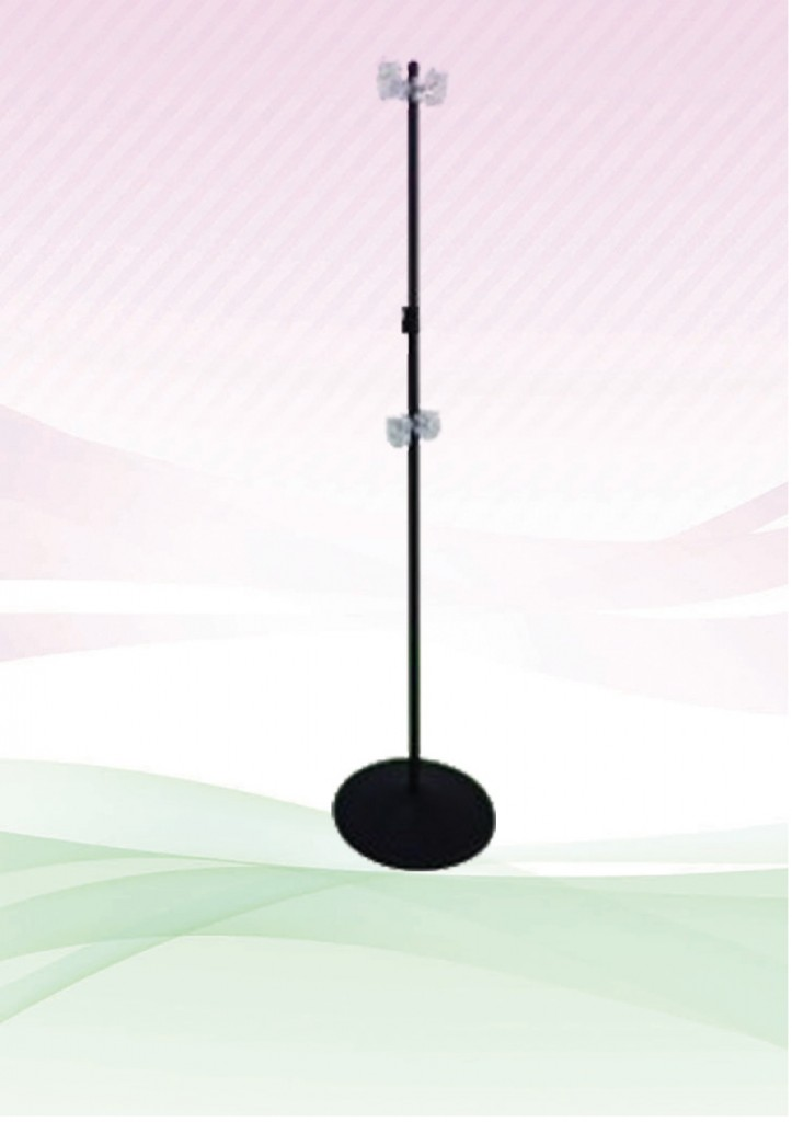 T-Bar with Clip (Round Base)